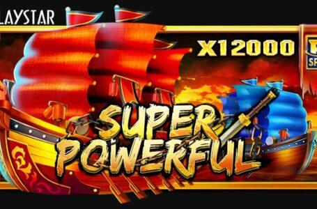 Super Powerful สล็อตเบอร์ 1 จากค่าย Playstar