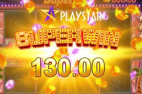 Super Win เกมสล็อตค่าย Playstar ที่ฮิตสุดๆ ลุ้นรางวัลง่าย ได้กำไรแน่นอน